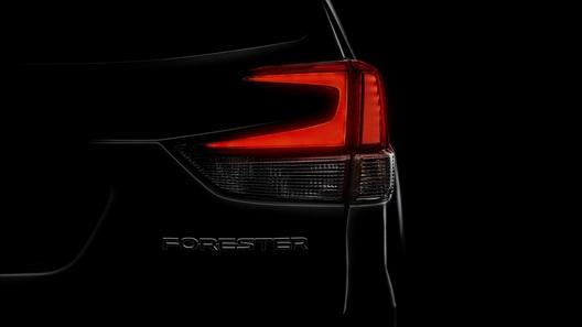 Subaru показала фрагмент нового Forester