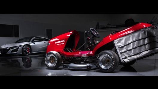 Honda хочет обновить рекорд скорости для газонокосилок