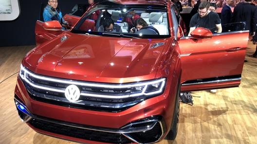 Представлен новый большой кроссовер Volkswagen (и это не Touareg)
