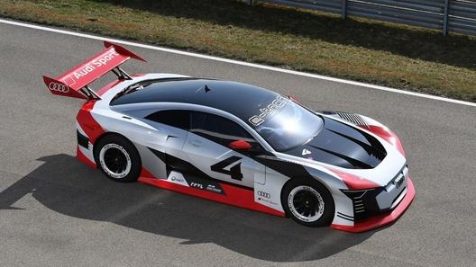 Ауди презентовала новый электрический спорткар e-tron Vision Gran Turismo