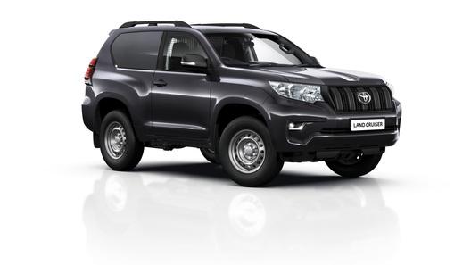 Toyota выпустила грузовую версию Land Cruiser Prado
