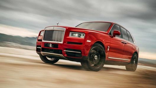В Россию приехал ультрароскошный Rolls-Royce Cullinan за 25 млн рублей
