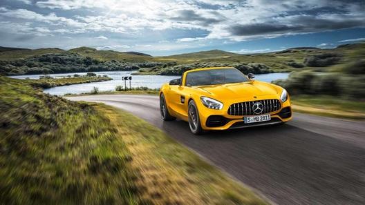 Mercedes-AMG выпустил еще один родстер GT