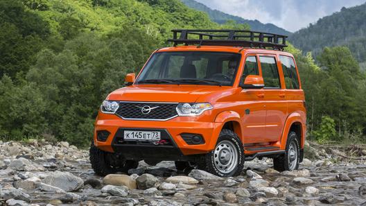 Самый дорогой УАЗ «Патриот» поступил напродажу