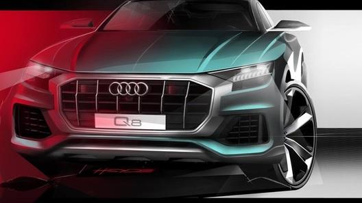 Кроссовер Audi Q8: новое изображение