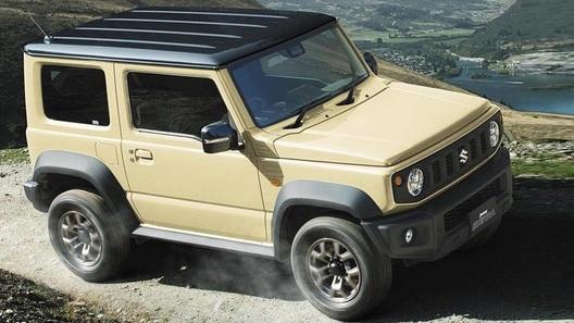 Новый Suzuki Jimny: официальные фотографии