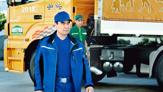 Президент Туркмении собрал гоночную машину пособственным чертежам