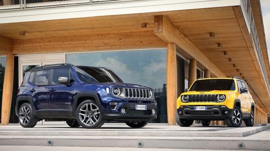 Jeep Renegade пережил плановый рестайлинг