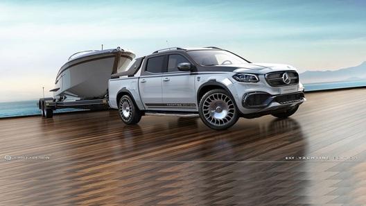 Пикап Mercedes-Benz получил Maybach-модификацию