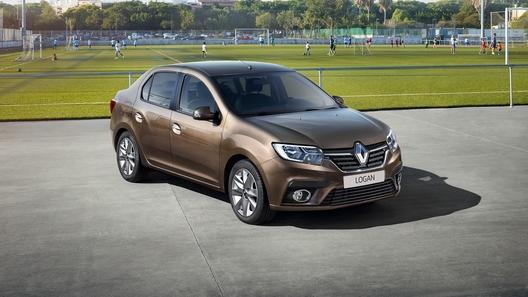 В России начали продавать обновленные Renault Logan и Sandero