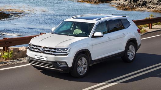 Базовый Volkswagen Teramont: теперь с адаптивным круиз-контролем