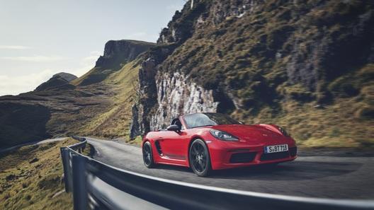 Porsche построила Cayman и Boxster для фанатов драйва