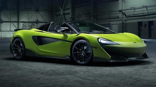 McLaren представил новый спайдер 600LT с разгоном 0-100 за 2,9 сек