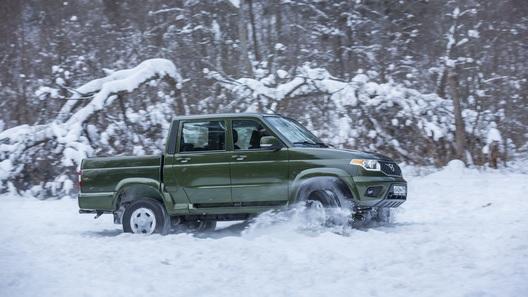 «УАЗ Пикап» получил несколько новых опций
