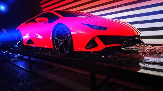 Суперкар Lamborghini Huracan Evo – уже в России!