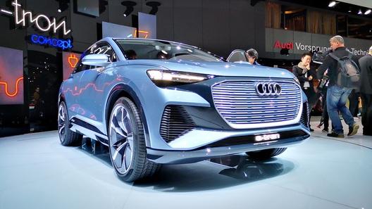 Audi намекнула на серийный электрокроссовер
