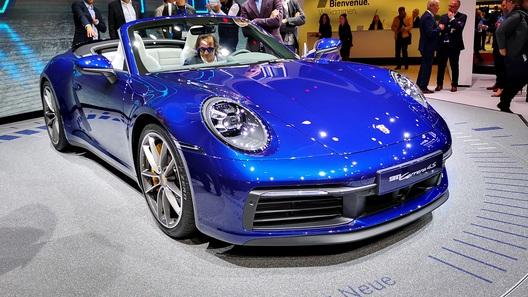 Представлен очень красивый кабриолет Porsche 911. Есть цены для России!