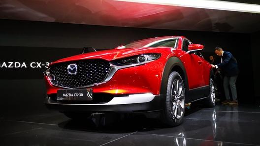Mazda представляет в Женеве новый