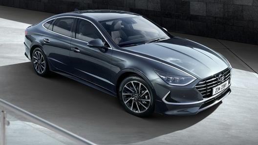 Новая Hyundai Sonata превратилась в купе и будет собираться в России