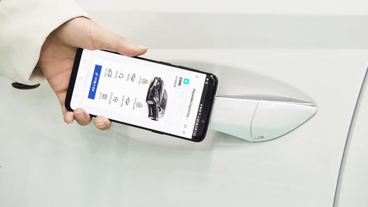 Смартфон сNFC вместо ключа: Хюндай вводит новейшую систему доступа вавтомобиль