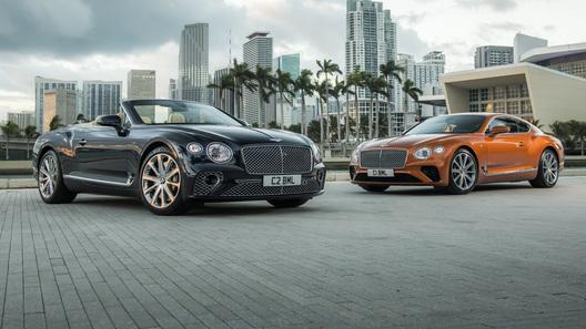 Купе и кабриолет Bentley Continental GT получили новый двигатель V8