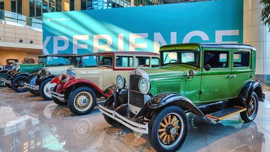 В Домодедове открылась выставка очень крутых ретроавтомобилей
