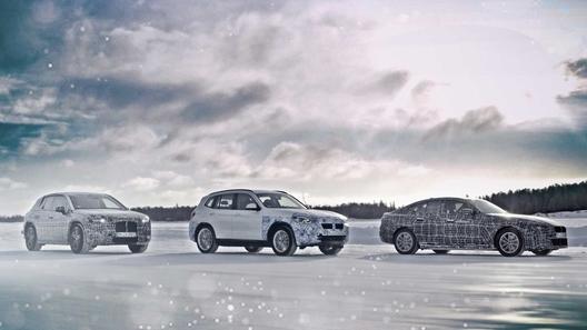 BMW анонсировала сразу три серийных электрокара
