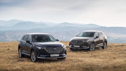 Hot or Not? Оцениваем шансы обновленной Mazda CX-9 в России. Цены и конкуренты!