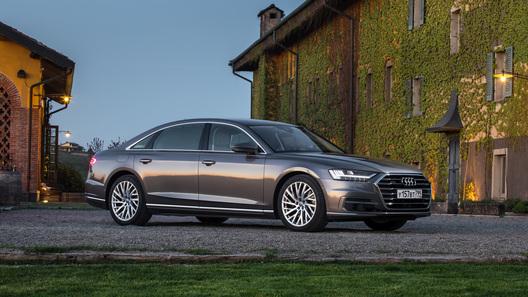 В России стартовал прием заказов на новую версию Audi A8