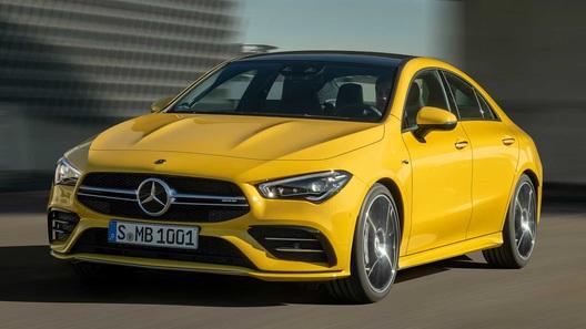 Mercedes представил маленький и очень дерзкий AMG-седан