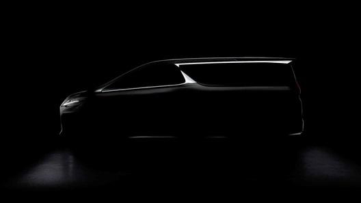 Роскошный минивэн Lexus получит обозначение LM