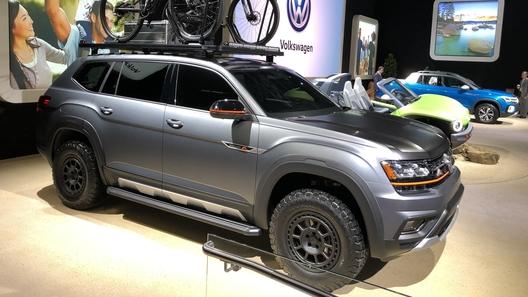 """Volkswagen продемонстрировал, как можно """"затюнить"""" Teramont под бездорожье"""
