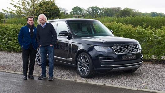 Range Rover выпущен в особой версии для космических туристов