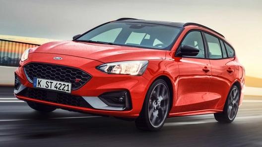"""Ford Focus, который мы потеряли - новый """"заряженный"""" универсал ST"""