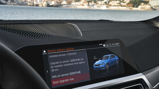 Софт BMW начал обновляться