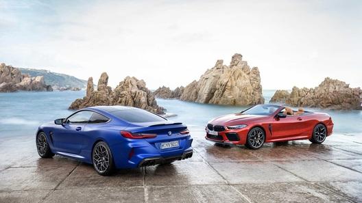 BMW сделала новую М8 сразу в четырех версиях (и уже есть цены в рублях!)