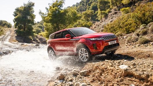 В России стартовали продажи нового Range Rover Evoque