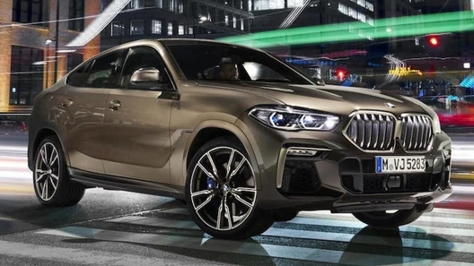 Появились первые фото нового BMW X6