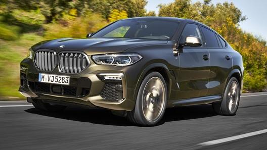 Представлен новейший BMW X6 со светящимися