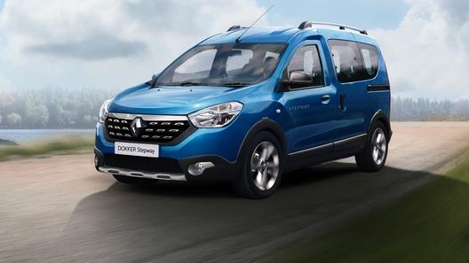 В России начались продажи Renault Dokker Stepway