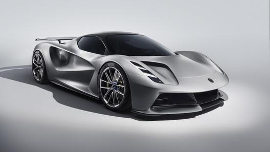 Evija: представлен первый гиперкар Lotus  с рекордной мощностью