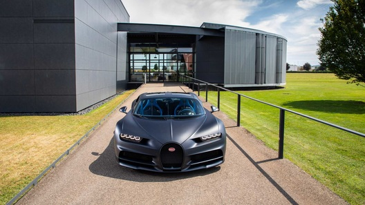 Bugatti разгонит Chiron до 500 км/ч