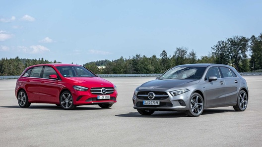 Mercedes-Benz А- и В-Класса: теперь их можно