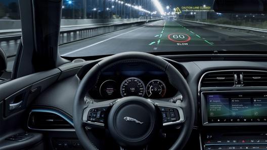 У Jaguar появится трехмерный дисплей