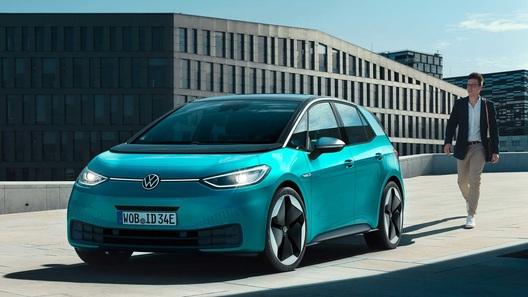 Электрический Volkswagen ID.3 научат общаться с окружающими