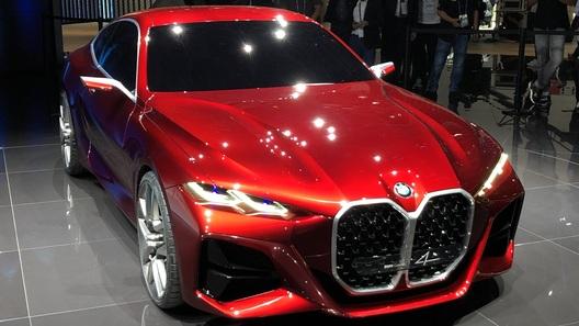 Больше ноздри! BMW намекнула ярким концептом на новое купе 4 серии