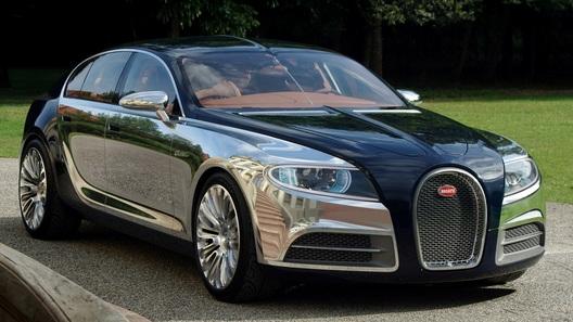 Bugatti ищет деньги на новую модель - четырехдверную, но не кроссовер! Скинемся?