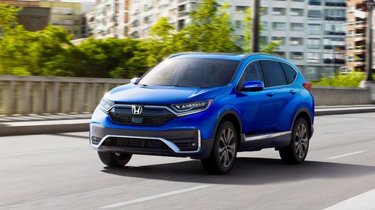 Honda показала обновленный кроссовер CR-V
