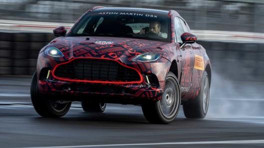 Первый кроссовер Aston Martin получит самый мощный V8 и драйверские