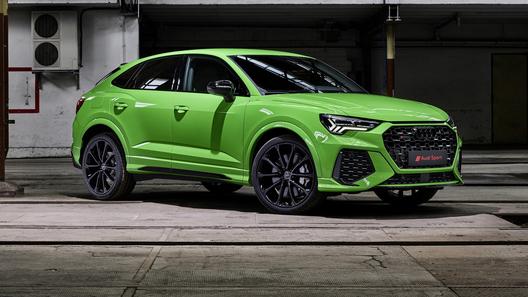 Audi выпустила заряженные и очень быстрые RS Q3 и RS Q3 Sportback